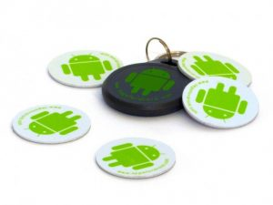 Android NFC tags can be used with our attendance software